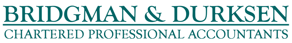 BRIDGMAN & DURKSEN Chartered Professional Accountants